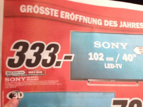 [Frankfurt] Sony Bravia KDL 40 R 470
