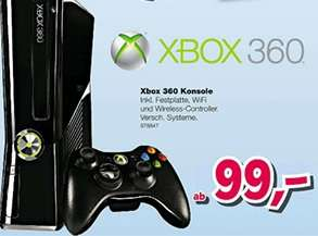 "Xbox 360 Konsole 99€ bei Toys""R""Us"
