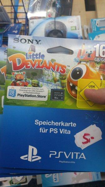 [Lokal] Saturn Solingen - PS Vita Speicherkarte 16GB (inkl Little Deviants-Code)