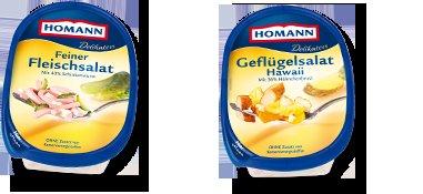 2 Homann Salate kaufen (Aktionspackungen) -> Blumenstrauß im Wert von 13,50€ erhalten (Blume2000.de)!
