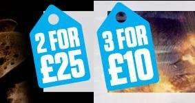TheHut - PC Spiele 3 für £10 und 2 für £25 Aktion!