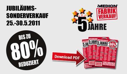 Medion Lagerverkauf bis 80% in Essen