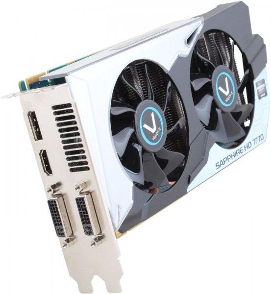[Deluxe - das hukd-Magazin] Grafikkarte Sapphire AMD Radeon™ HD7770 Vapor-X 1024 MB GDDR5-RAM PCIe x16 DVI, HDMI, DisplayPort @digitalo