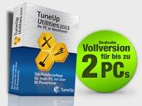 TuneUp Utilities 2013, 2 PC OEM Version bei Pearl für 4,90 bzw. 6,90