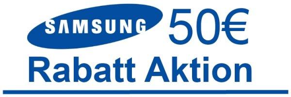 50 € Rabatt auf Samsung Smartphones (ab 149€)  von notebooksbilliger.de