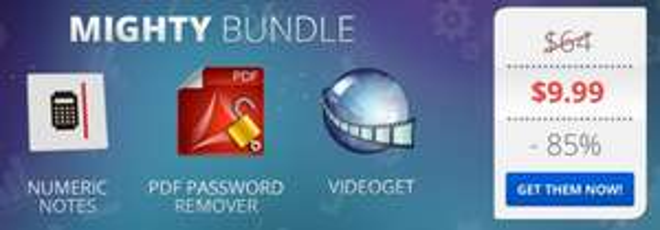 (MAC) Das Mighty Bundle mit 3 Apps für nur 7,37€