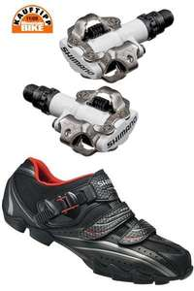 Shimano Klickpedale + MTB Schuhe für ca. 75€ inkl. Versand @ zweirad-stadler.de