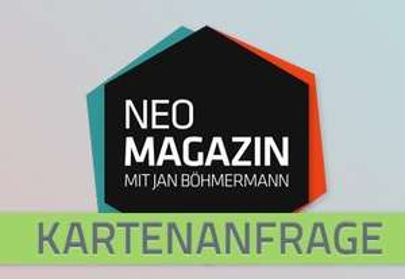 [lokal Köln]  kostenlose Tickets für das NEO Magazin mit Jan Böhmermann