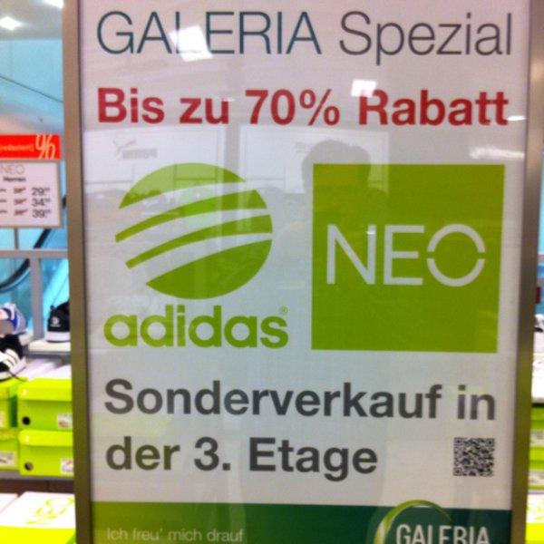 [lokal] Adidas NEO Sneaker ab 29,95€ [Galeria Kaufhof Stuttgart]