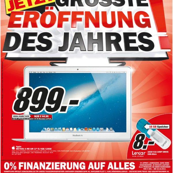 """[LOKAL] MacBook Air Mid 2013 13"""" MD760D/A im MM Sulzbach (Taunus)"""