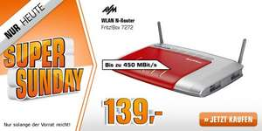 Saturn Super Sunday: AVM Fritz!Box 7272 WLAN Router