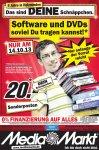 [Lokal im MM Holzminden] Software und DVDs soviel Du tragen kannst!* für 20€ am 14.10.2013
