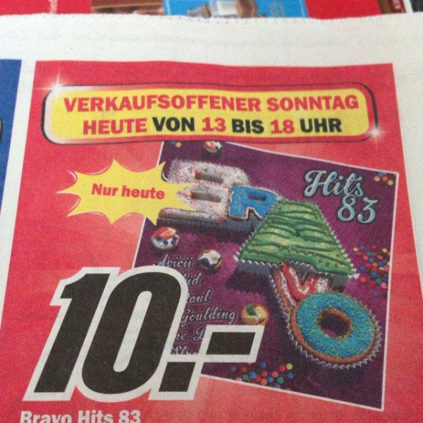 Lokal Media Markt Mönchengladbach: Bravo Hits 83
