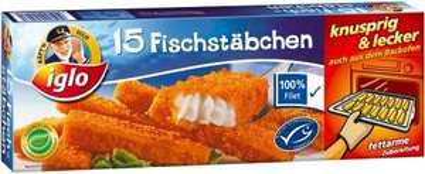 Kapt´n Iglo Fischstäbchen 15 Stück für 1,66€ Kaufland Süd / 1,77€ Real bundesweit