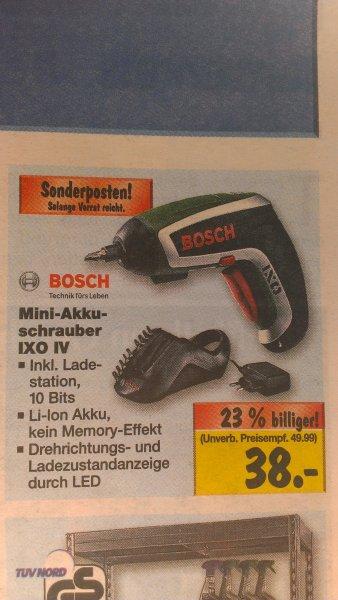 Bosch IXO Standard Edition 38€ @ Kaufland