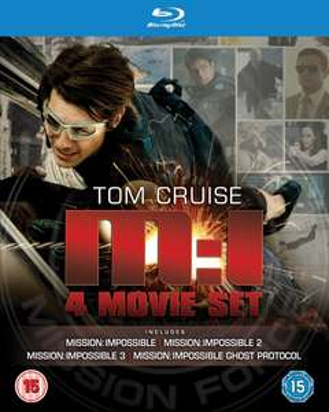 Mission Impossible 1-4 Box (UK) [Blu-ray] für 14,12 €