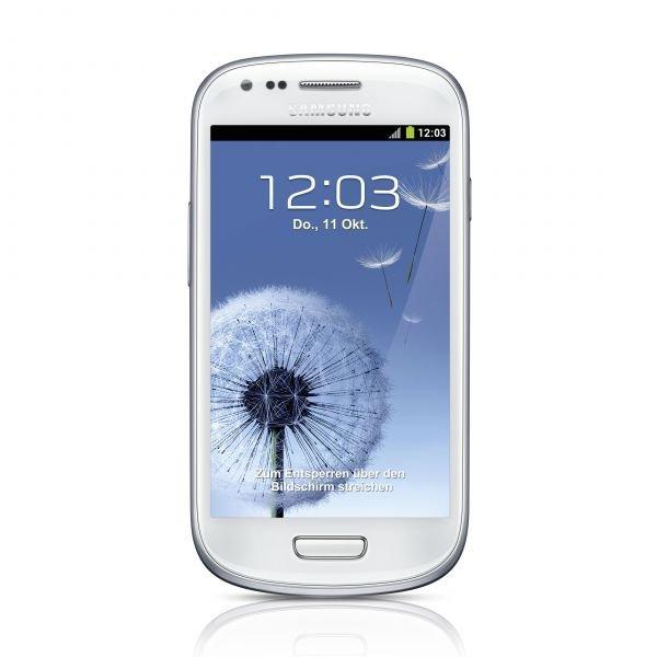 Samsung Galaxy S3 mini - 8GB - GT-I8190 - marble-white