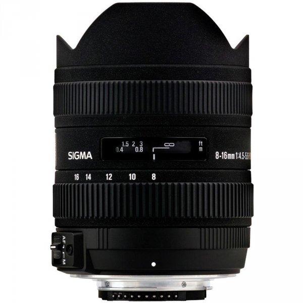 Sigma 8-16mm f4.5-5.6 DC HSM [Sony A] Ultraweitwinkel-Zoom-Objektiv für 568,24 € @Ebay