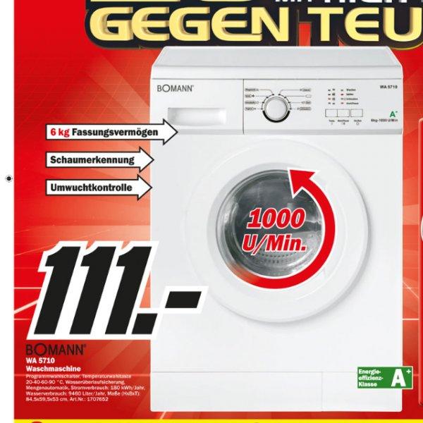 [Berlin&Brandenburg Lokal] MM Bomann Waschmaschine WA5710 111€