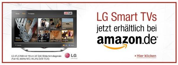 1 Monat LoveFilm für LG Smart TV´s