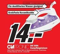 Dampfbügeleisen auf 14€ reduziert (lokales Angebot)