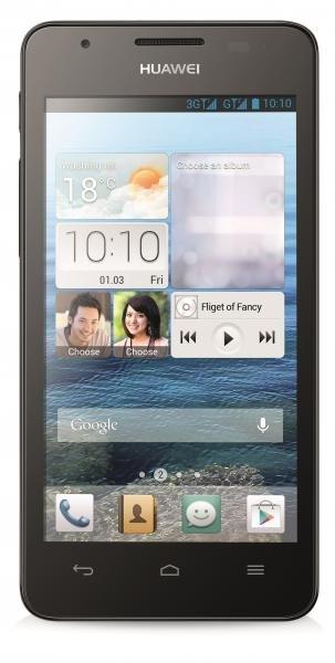 Huawei Ascend G510 Smartphone 5MP-Kamera, 1,2 GHz Dual-Core, schwarz @ Ebay WOW
