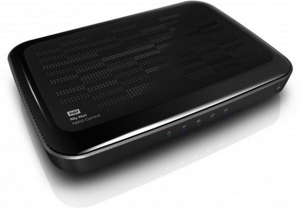WD My Net N900  Dual Band Router 450Mbit/s mit integrierter Festplatte 1 TB (NAS)