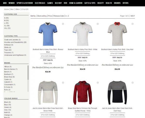 2 Für 26€ Jacken Pullover Shirts Hoodies von Bench,Atticus,Boxfresh @TheHut + 15% Gutschein