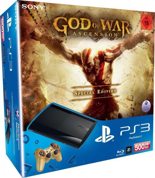 PS3 500GB als God of War Special Edition Version