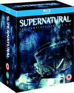 Supernatural - Season 1-5 [Blu-ray] für rund 81,25€ @ amazon.uk