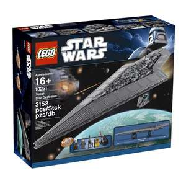 Lego Star Wars Super Star Destroyer 10221 für 304,49 € @ amazon.fr
