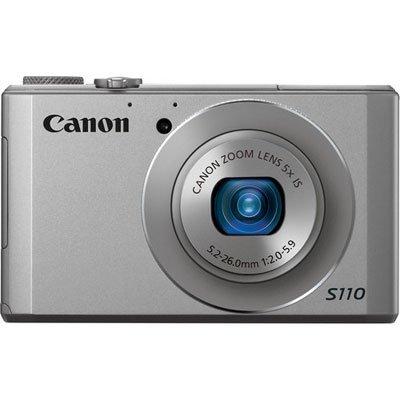 Canon PowerShot S110, silber, incl. VSK für 215,36 Euro
