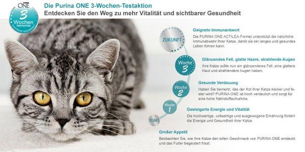 [ Amazon.de ] Purina Katzenfutter 3 Wochen Testaktion mit Geld zurück Garantie