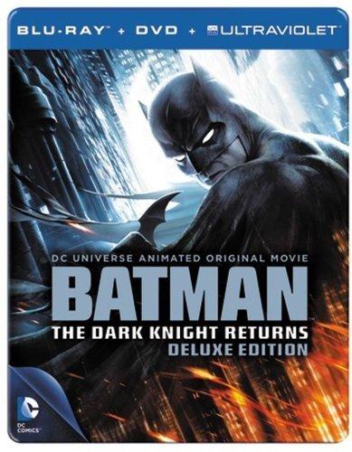 Batman: The Dark Knight Returns Deluxe Edition Steelbook [Blu-ray+DVD+UV-Copy] für 19,79 €