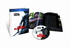 Blu-ray - John Rambo (Premium Collection inkl. Collector's Book) für €4.- [@Play.com]