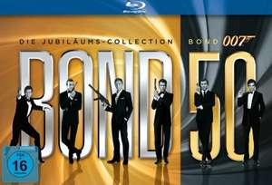 James Bond 50- Jubiläums Collection 85,11€ @Zavvi.com