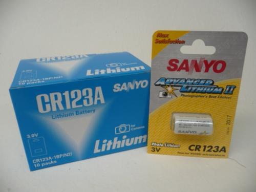 Z.B. für die Litexpress WORKX 10x Sanyo CR123A für 11 Euro