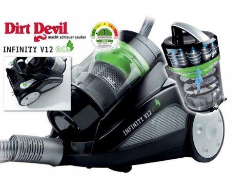[Abverkauf] Dirt Devil M5011-4 Infinity V12 eco für 74,94€ inkl. VSK (ehem. Marktpreis 129,99€)