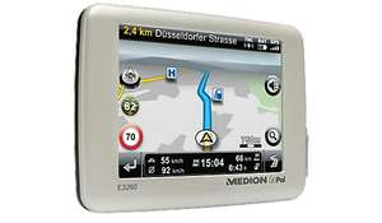 Navigationssystem MEDION® GOPAL® E3260 EU+