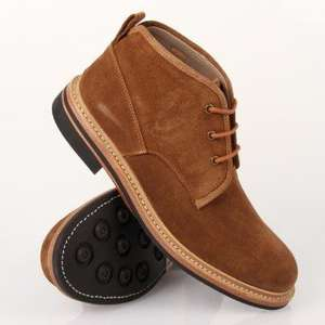 FRANK WRIGHT CONNAUGHT ST GINGER SUEDE