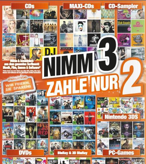 "[lokal hem expert Baden-W.] ""Nimm 3, zahle nur 2""-Aktion"