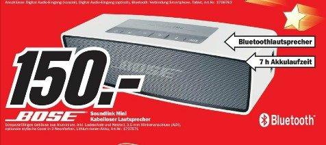 [Lokal Wiesbaden] Bose Soundlink Mini für 150€