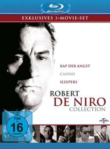 Robert De Niro Collection (Kap der Angst, Casino, Sleepers) [Blu-ray] für 11,99 €