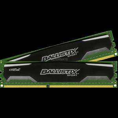 Crucial  DIMM DIMM 8 GB DDR3-1333 Kit (54,85€) @ZackZack