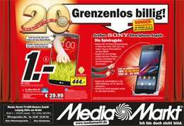 LG G2 16GB black @ Media Markt Leipzig Höfe am Brühl 444€