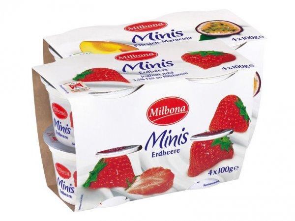 Milbona Joghurt Minis 16%Rabatt bei Lidl