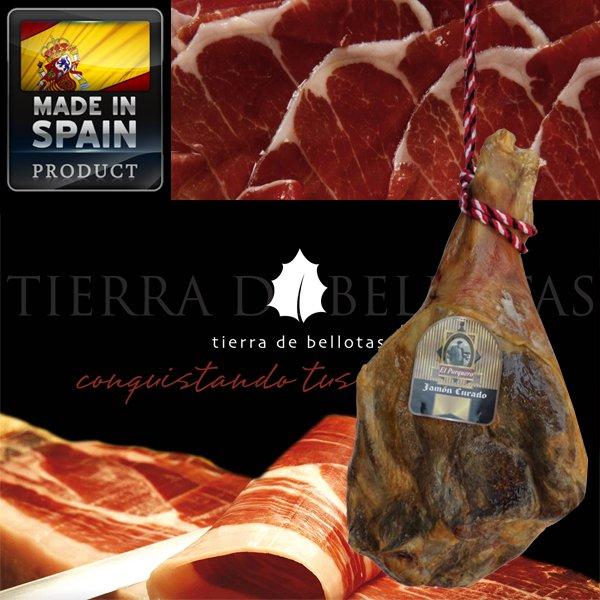 Fleisch Deal! 7 Kg Serrano-Schinken incl. Filetiermesser