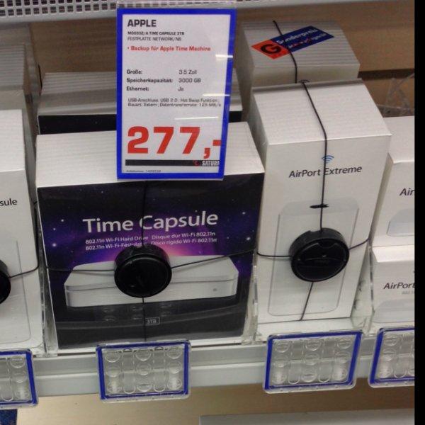 [lokal?] Apple Time Capsule 3TB Saturn Remscheid