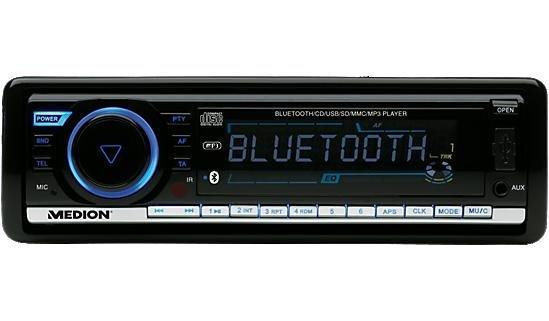 Autoradio mit Bluetooth von Medion + Gratis Versand