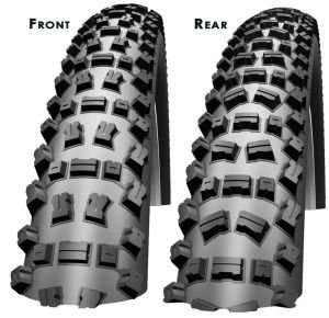 SCHWALBE Fat Albert SnakeSkin Front TrailStar + Rear PaceStar 26 x 2,40 - ca. 42% Rabatt